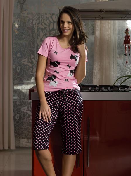 Noční prádlo Monika - krátké pyžamo  2c30f74ac9