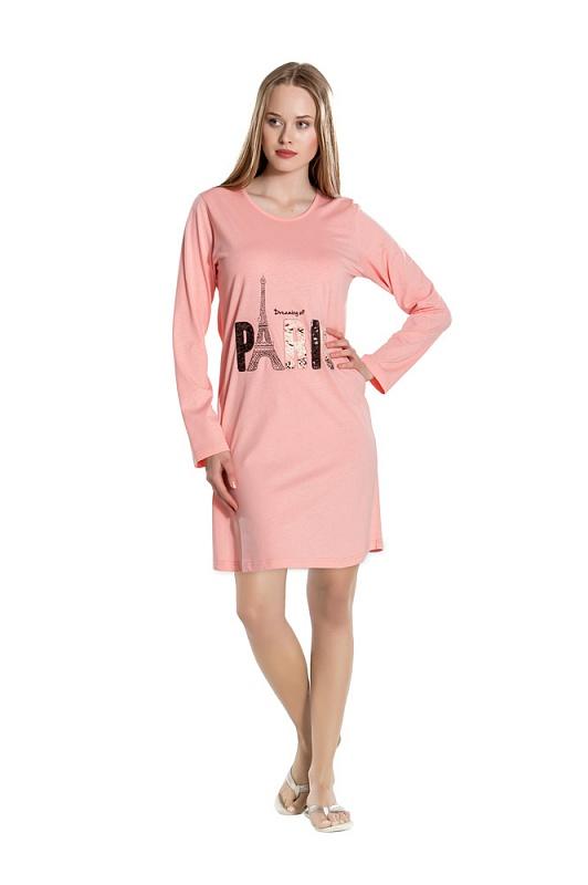 Noční košile Gina Pink Náhled. Nová kolekce 74ce0138e0